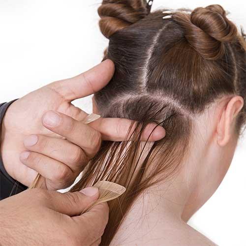 Applying Hair Extensions Leeds