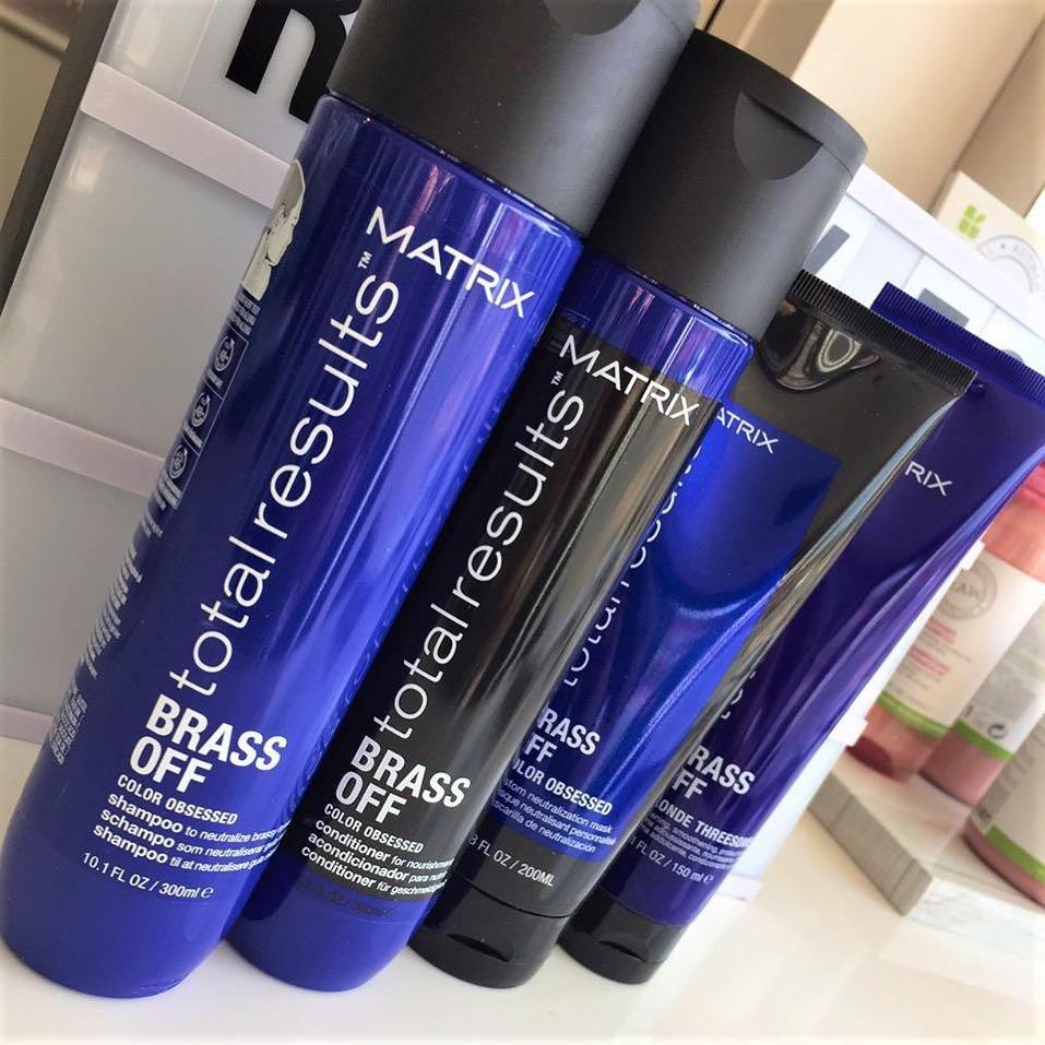 Matrix Brass Off Hair Products